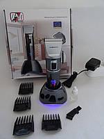 Машинка для стрижки Promotec PM 362 (аккумулятор, керамический нож) цвет черный