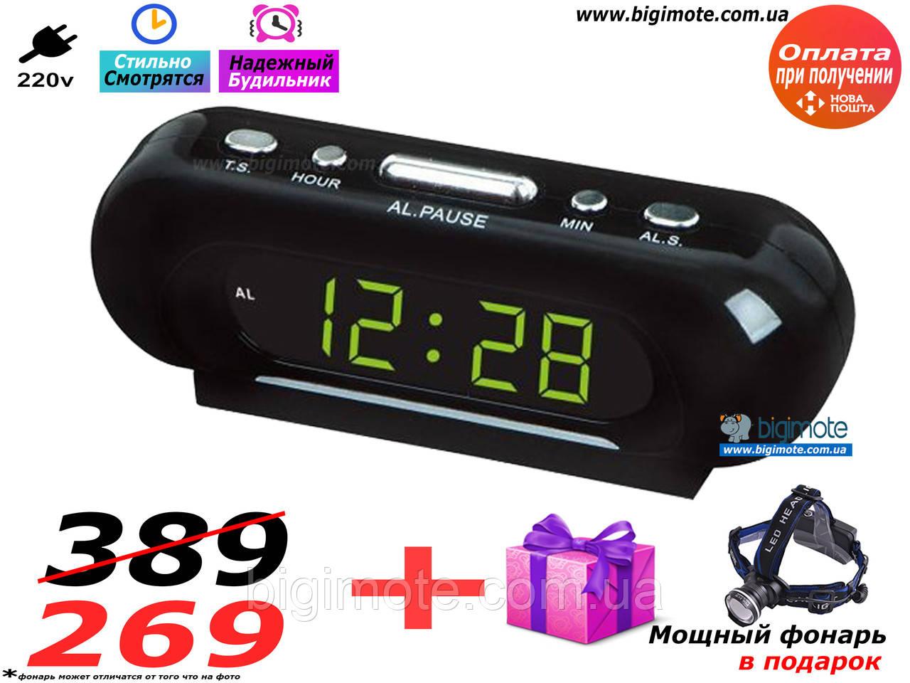 Электронные часы,настольные часы,часы настольные,часы электронные, с подсветкой, vst716-2