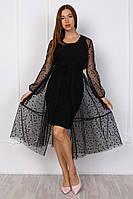 Модное платье стильного кроя