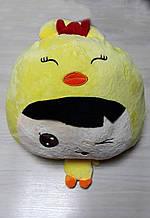 Плед - м'яка іграшка 3 в 1 (Чоловічок у жовтому)