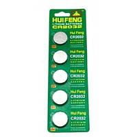 100x Батарейка таблетка CR2032, 5004LC L14, литий, малоемкостные (FD0032)