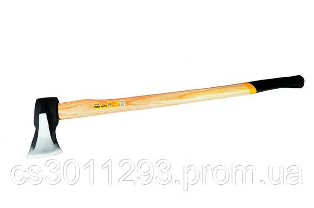 Топор-колун Mastertool - 2000 г, длинная ручка деревянная, фото 2