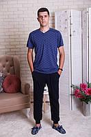 Пижама мужская футболка+штаны