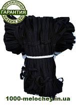 Резинка бельевая (10m-10 шт) черные, тесьма эластичная полиэстер