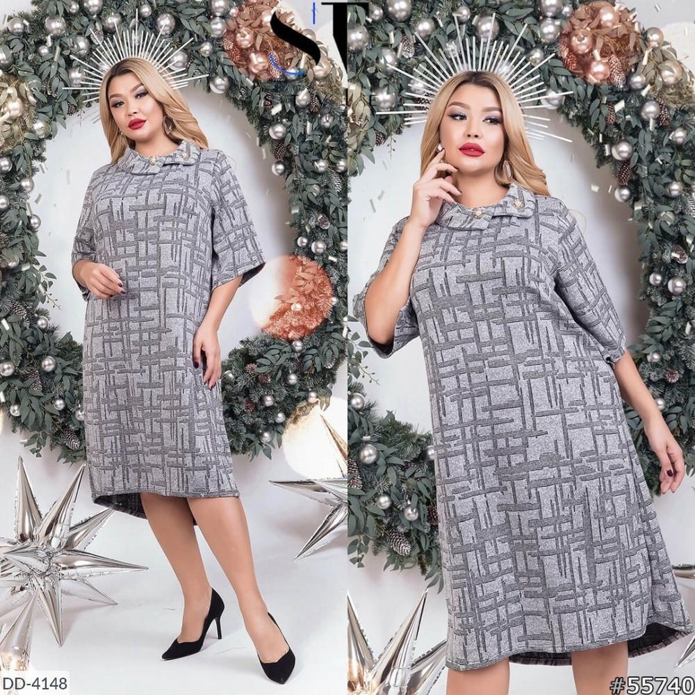 Платье женское нарядное батал размеры 52 54 56 Новинка 2019  есть много цветов