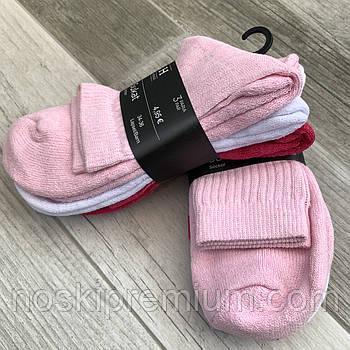 Шкарпетки жіночі х/б махрова стопа House, Фінляндія-Туреччина, розмір 34-36, асорті, 01234