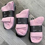 Носки женские х/б махровая стопа House, Финляндия-Турция, размер 34-36, ассорти, 01232, фото 2