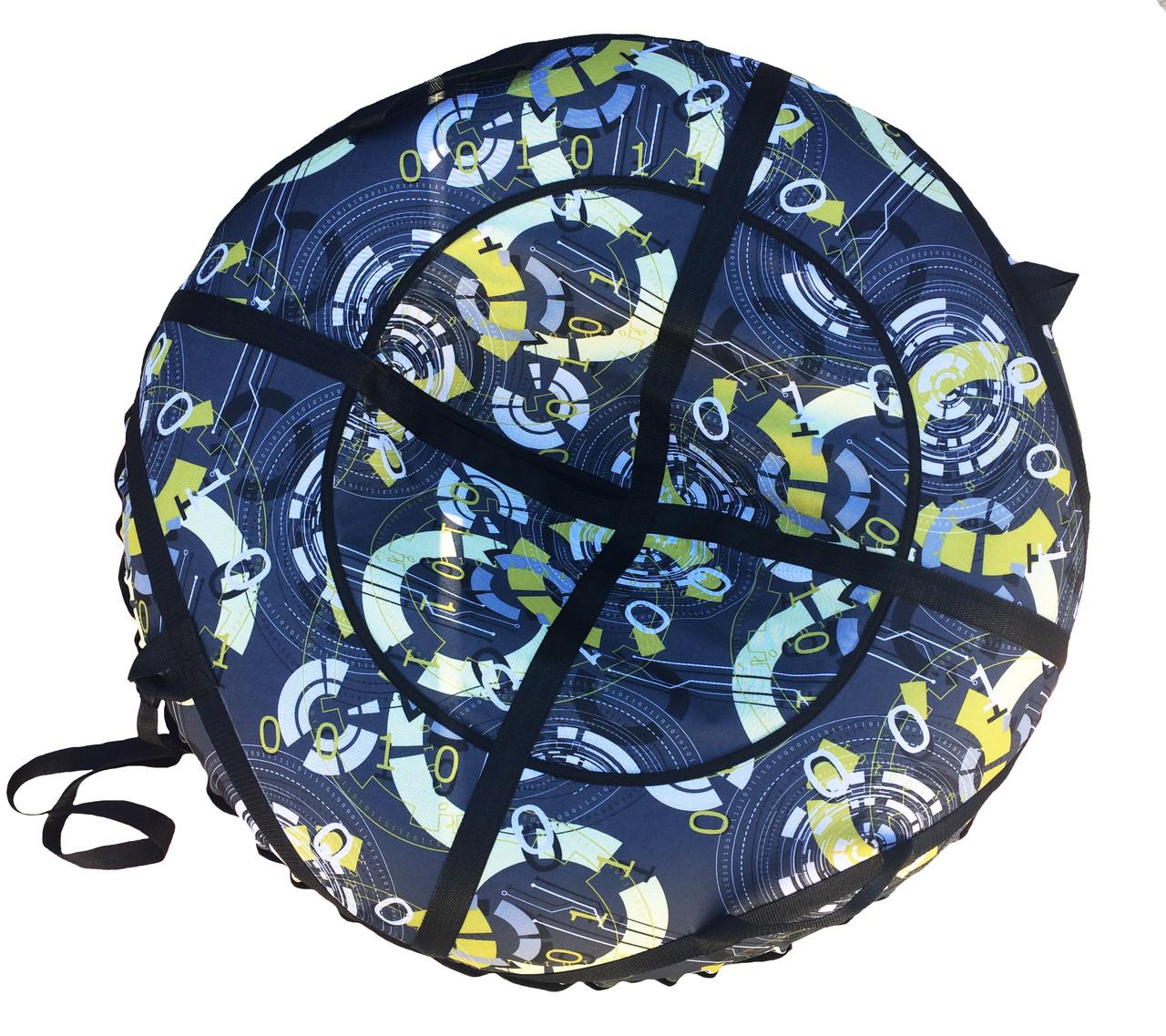 Тюбинг надувные санки диаметр 100см Часы