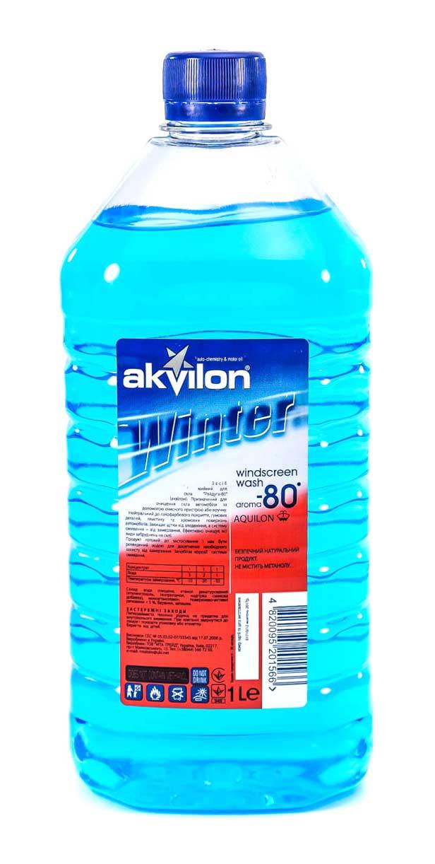 Концентрат омывателя Akvilon зимний -80 Aquilon 1 л