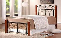 Кровать Миранда М односпальная каштан (90х200)