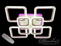 A8060/4+4BK LED 3color dimmer&ЛЮСТРЫ ПОТОЛОЧНЫЕ СВЕТОДИОДНЫЕ