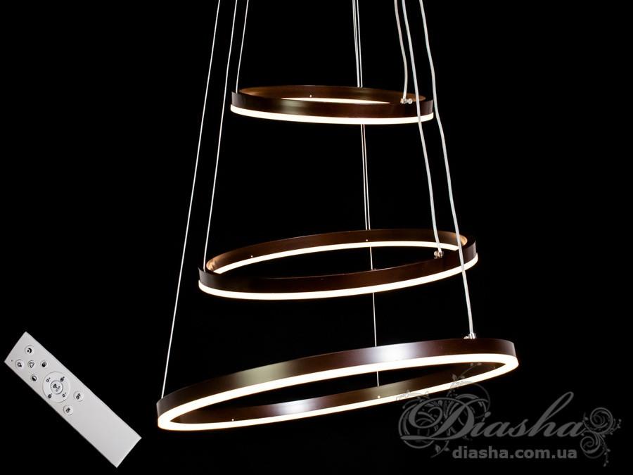 Современная светодиодная люстра, 105W&MD55000-3CF dimmer
