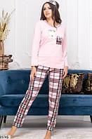 Пижама женская с повязкой в комплекте коттон 42,44,46,48 размеров