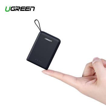 Внешний аккумулятор повербанк Ugreen Mini Power Bank 10000mAh QC2.0