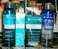 Ив Роше Подарочный Набор для Лица увлажнение Hydra (очищающий гель, сыворотка, тоник, смывка туши)