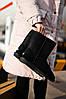 Женские Ugg Classic Short Black, женски угги, черные женски угги низкие, зимние женские угги - Фото