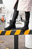 Женские Ugg Classic Short Black, женски угги, черные женски угги низкие, зимние женские угги, фото 4