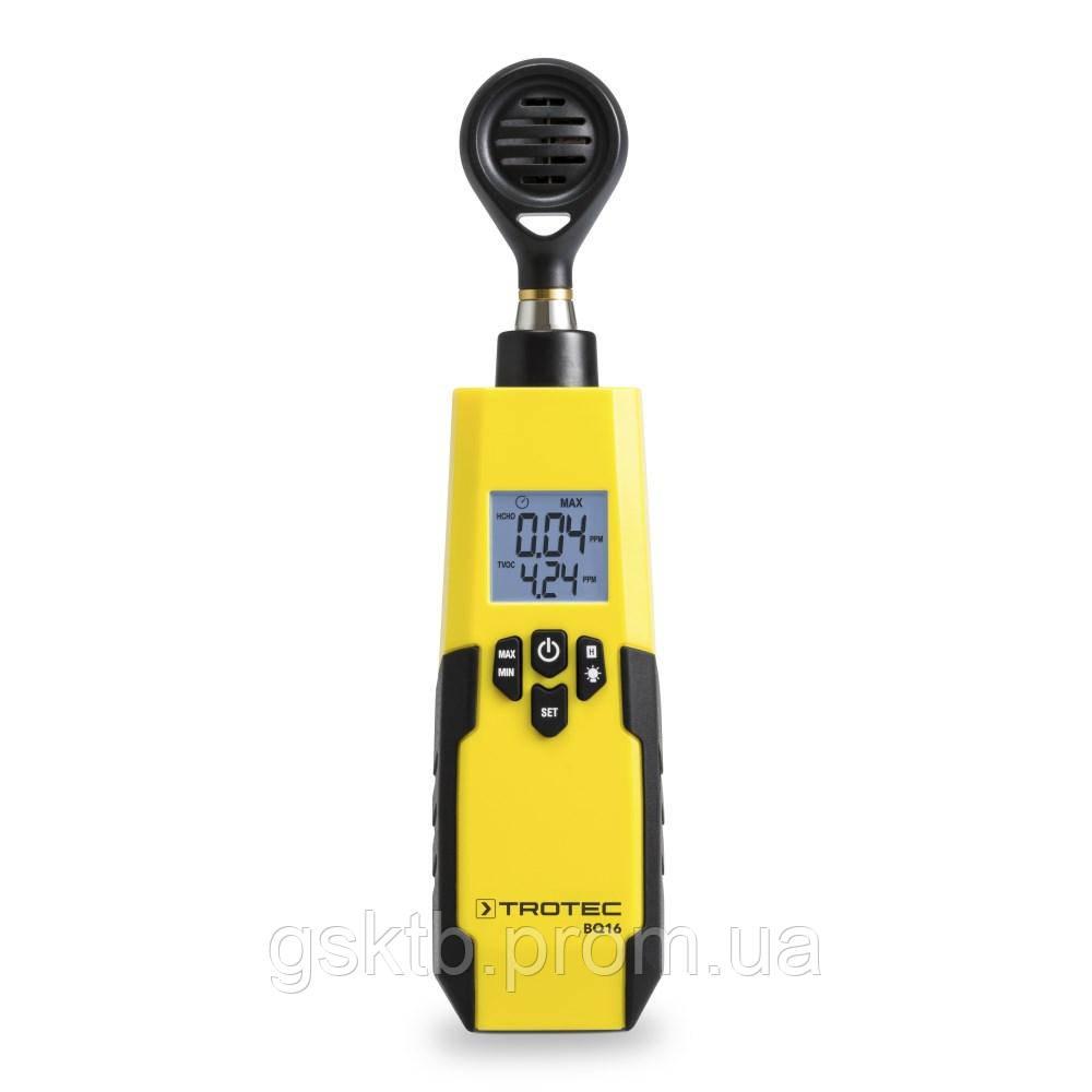 Trotec BQ16 тестер качества воздуха и анализатор формальдегида (Германия)