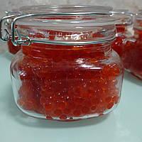 Ікра КЕТИ 500гр лососева червона у скло банці Салмо - Тунайча преміум сорту