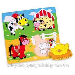 """Пазл Viga Toys """"Ферма"""" (59562)"""