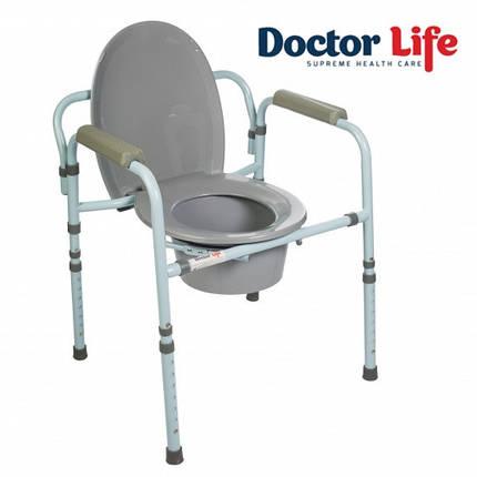 Стілець туалетний складаний преміум, модель 10595, фото 2
