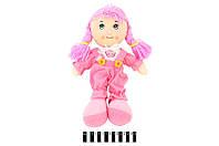 Кукла мягкая муз. 3 вида 36*21см /120/(R0114F)