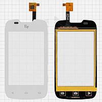 Touchscreen (сенсорный экран) для Fly IQ431 Glory, оригинал (белый)