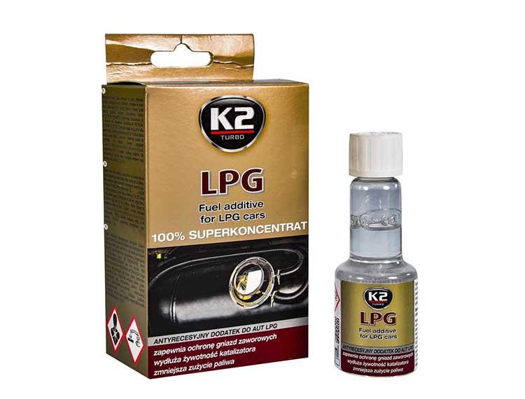 Присадка K2 Fuel additive for LPG cars 50 мл