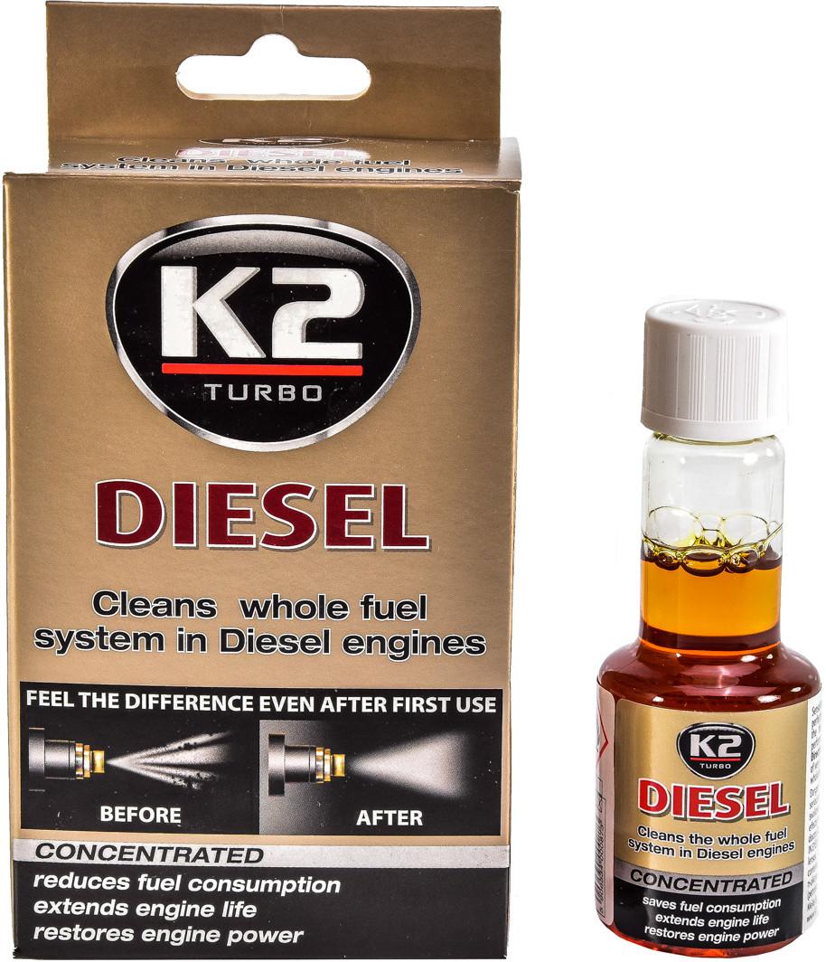 Присадка K2 Turbo Diesel 50 мл