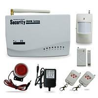 GSM сигнализация беспроводная, охранная система с оповещениями РУС (FD0544)