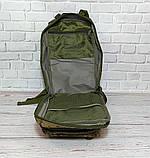 Тактичний, похідний рюкзак Military. 25 L. Камуфляжний, піксель, мілітарі. / T412, фото 5
