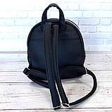 Маленький женский рюкзак Forever Young. Черный, фото 10