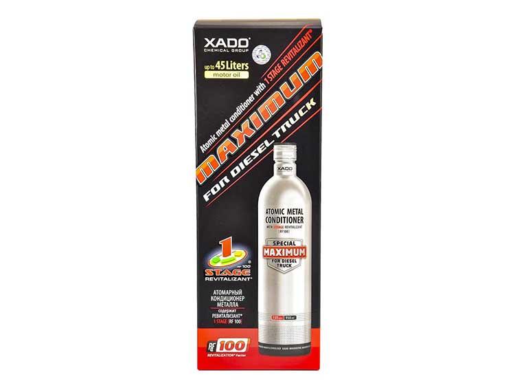 Присадка Xado Атомарный кондиционер металла Maximum for Diesel Truck для дизельных двигателей 946 мл