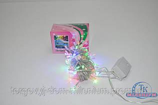 Гирлянда  на 140 LED лампочек цветные огни 140LED