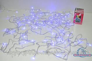 Гирлянда  на 200 LED лампочек синие огни 200LED