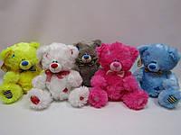 Медведь Тедди сидячий 30*34см, 10 цветов