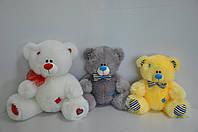 Медведь Тедди сидячий 35*40см, 10 цветов
