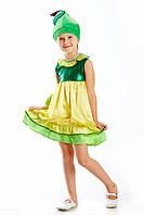 Детский карнавальный костюм для девочки «Груша» 110-120 см, желтый, фото 1
