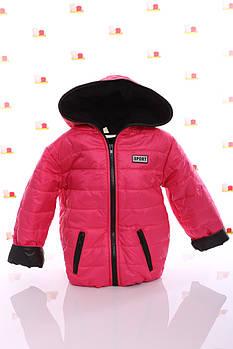 Куртка Спорт флис малиновый