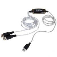 MIDI интерфейс кабель USB, подключение клавиатуры (FD0681)