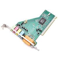 PCI 4 канальная звуковая карта + MIDI Game порт C-Media CMI8738-SX (FD0731)