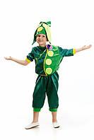 Детский карнавальный костюм для мальчика «Горох» 110-120 см, зеленый
