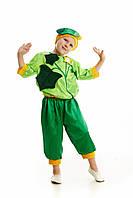 Детский карнавальный костюм для мальчика «Огурец» 110-120 см, зеленый