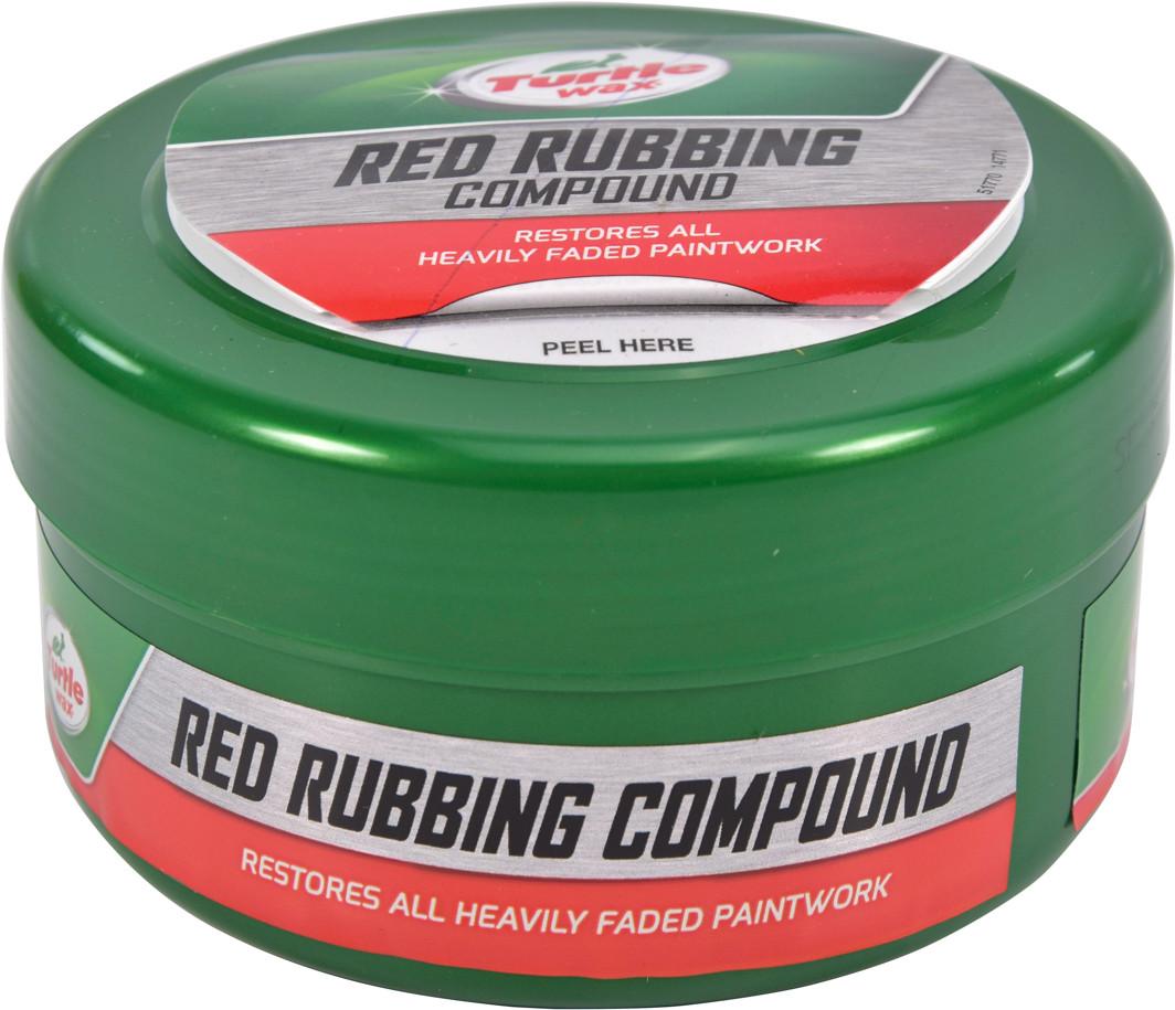 Полірувальна паста Turtle Wax Red Rubbing Compound 250 мл