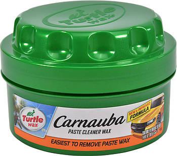 Поліроль-паста з воском карнауба Turtle Wax Carnauba Paste Cleaner Wax (387г)