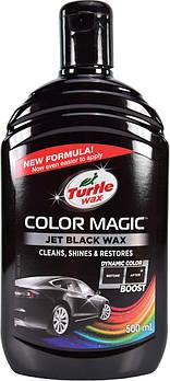 Кольоровий поліроль для кузова Turtle Wax Color Magic Jet Black Wax 500 мл