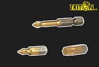 Насадка РZ  2*50мм 1/4 S2 Triton 20шт/уп.