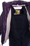 Комбинезон Классика бордовый лабиринт, фото 4