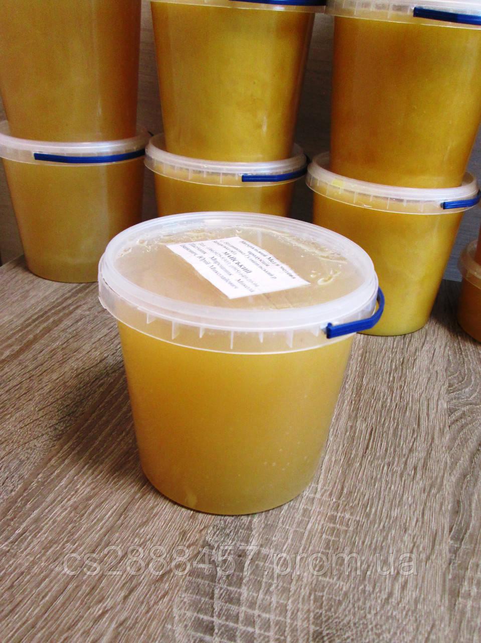 """Мед """"Майський/Травневий"""" 1,0 л., 100 % зрілий мед / Мёд """"Майский"""" 1,0 л., 100% зрелый мёд"""