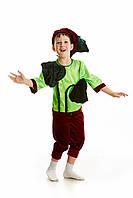 Детский карнавальный костюм для мальчика «Бурячок» 110-120 см, бордовый, фото 1